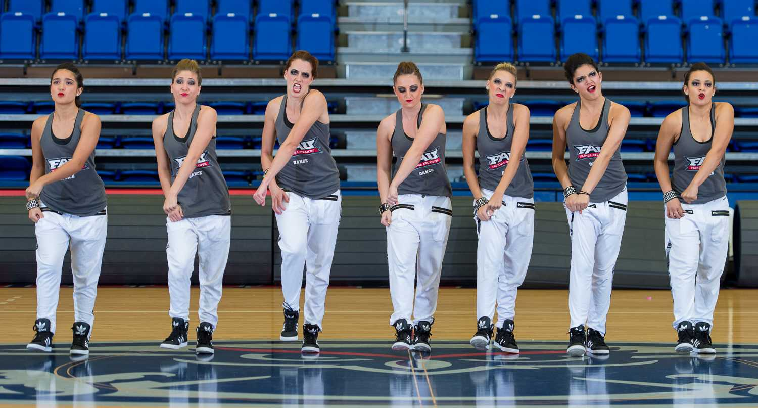 The FAU Flygirls perform at their annual Showcase before they head to Nationals.