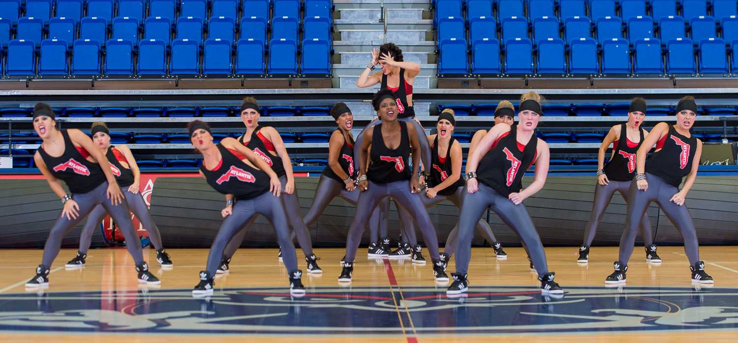 The FAU Dance Team performs at their annual Showcase before they head to Nationals.