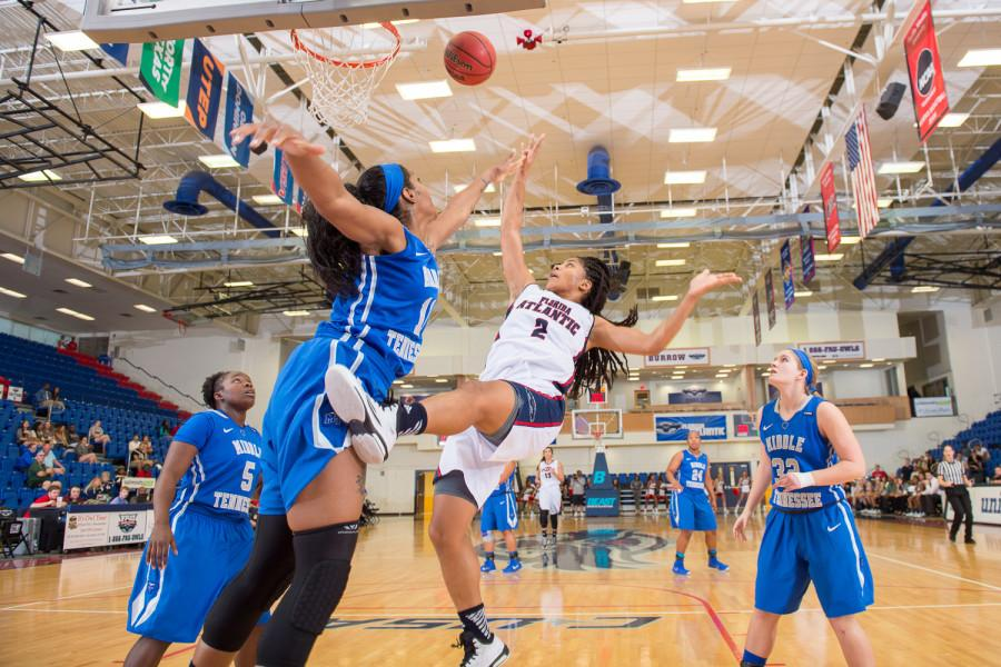 Gallery:  FAU Women's Basketball loses to MTSU