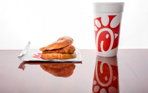 FAU's Chick-fil-A chicken sandwich and medium drink. Mohammed F Emran | Web Editor