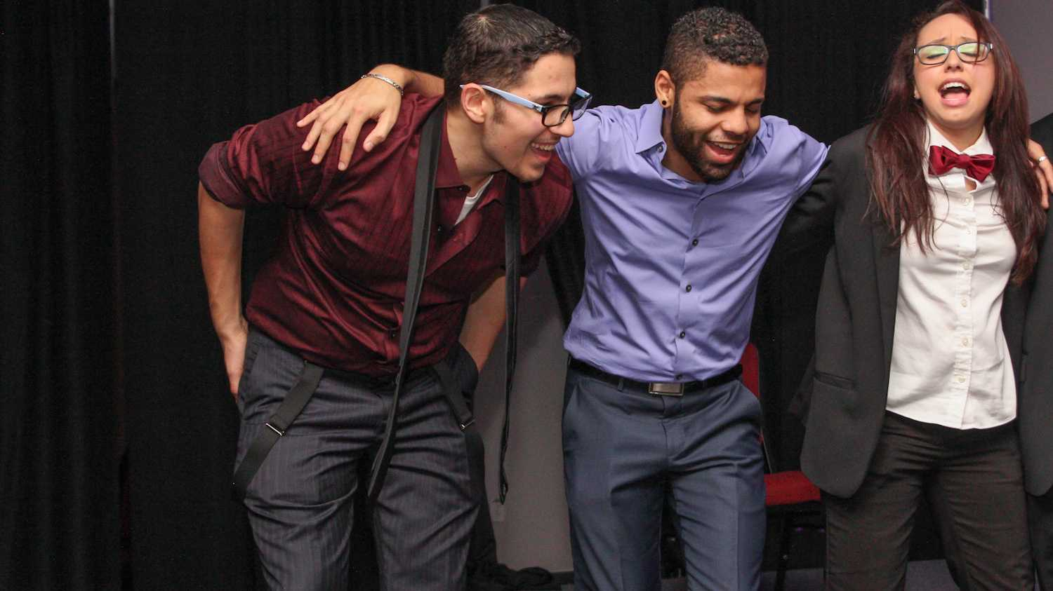 FAU students enjoying themselves at the LGBTQA Gala that took place on Friday Jan. 30th.