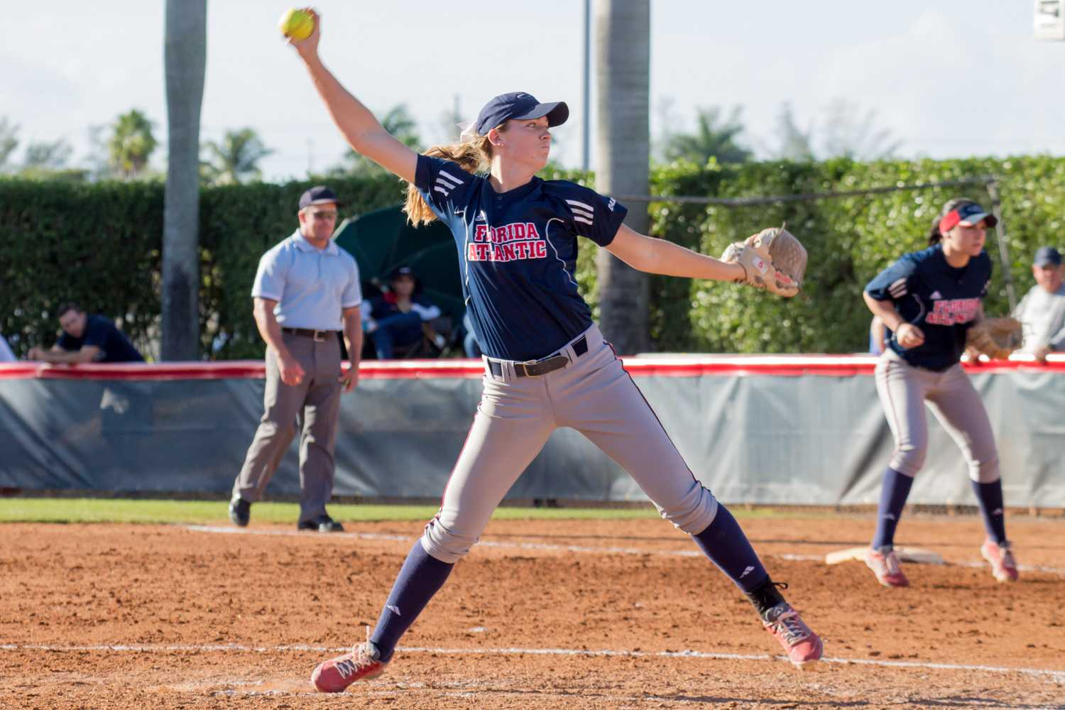 FAU v. LIU_Softball_Idalis Streat-3