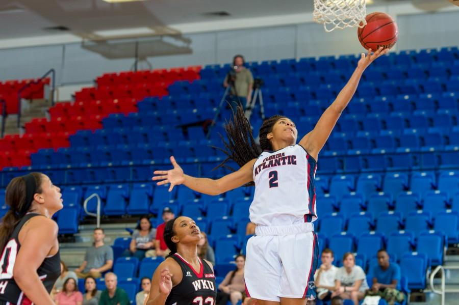 Shaneese Bailey scored a team-high 19 points in the Owls' 85-74 loss to Western Kentucky on Feb. 26. Photo by Max Jackson
