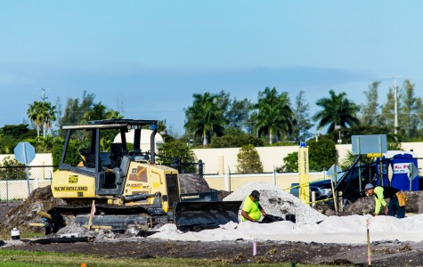 FAU adds on-campus sand volleyball courts