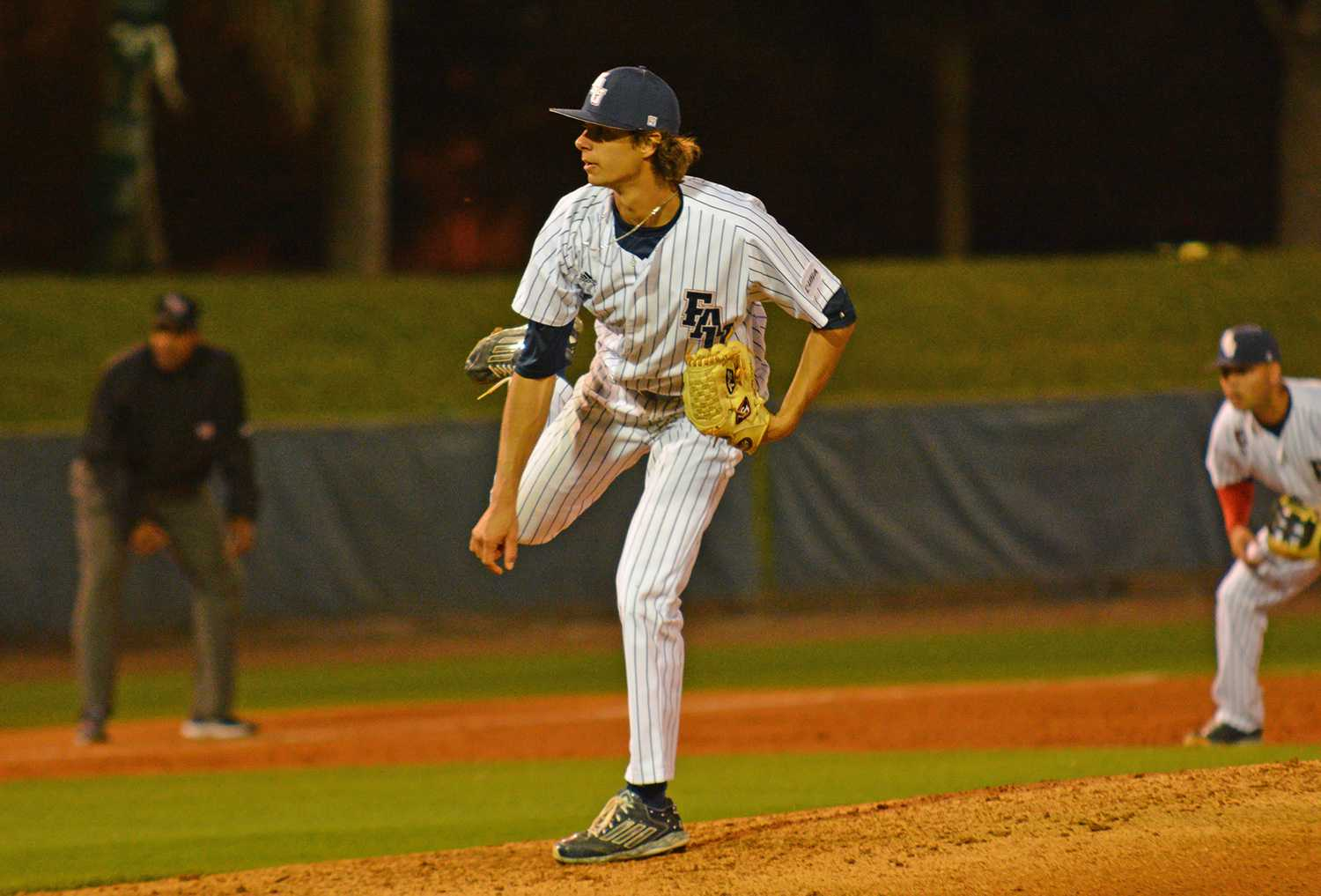 Friday night's starting pitcher Kyle Miller (17) only allowed five hits in five innings despite losing to Ohio State 8-2 to start the weekend series.