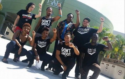 "Black student organizations participate in ""Die-in"" demonstration on Free Speech lawn"