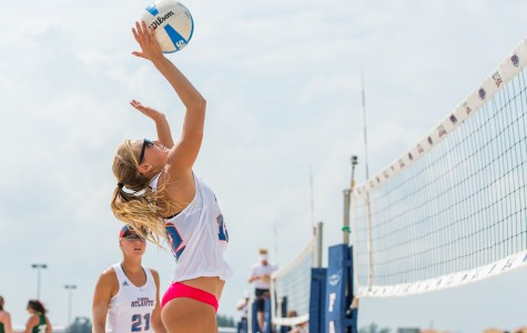 Gallery: Sand Volleyball beats Webber International in two matches