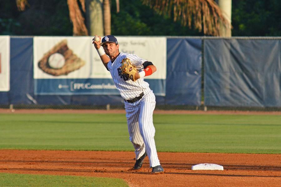 Shortstop CJ Chatham picked up one run and one hit in Friday's 4-2 victory over Middle Tennessee. Photo by Michelle Friswell | Associate Editor