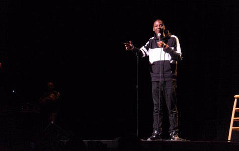 Jerrod Carmichael headlines final comedy show of the semester