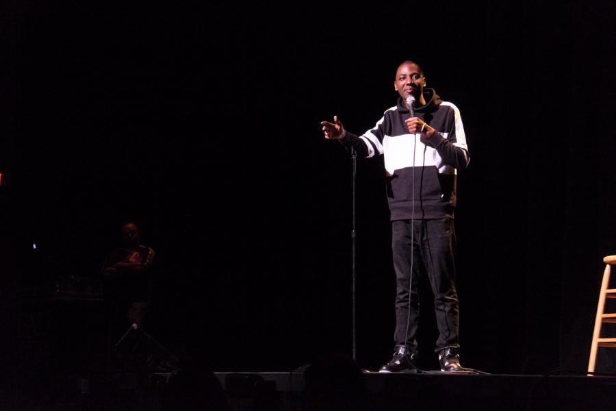 Jerrod Carmichael headlined Program Boards March 26th comedy show. Mohammed F Emran | Web Editor