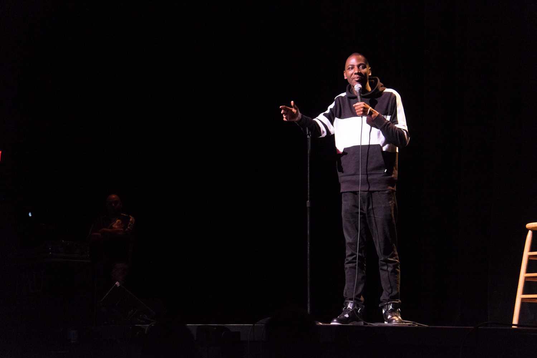 Jerrod Carmichael headlined Program Board's March 26th comedy show. Mohammed F Emran | Web Editor