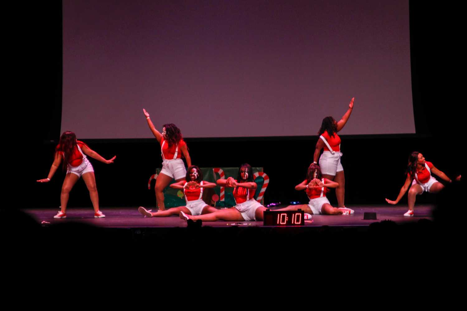 The ladies of Delta Sigma Theta Sorority Inc. took first place in the 20th Annual Sunshine State Classic Step Show.