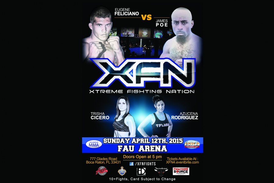 First Beatdown at the Burrow MMA event to be held at FAU