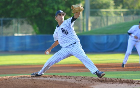 Pitcher Kyle Miller delivers a pitch during the Owls' May 8 game against Rice . Miller was one of six Owls picked during the three day draft. Photo by Michelle Friswell