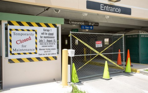 "Parking Garage 1 Closed for ""Maintenance"" Through August"