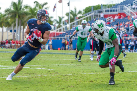 Football: Florida Atlantic picks up first win since opening day