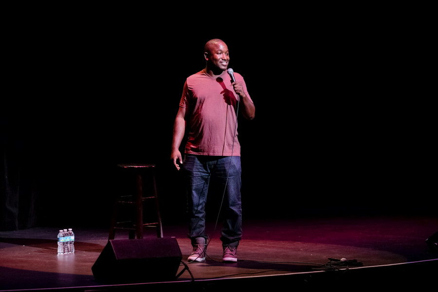 Hannibal+Buress+headlines+the+Homecoming+Comedy+Show+on+Oct.+26+in+the+Carole+and+Barry+Kaye+Performing+Arts+Auditorium.+Mohammed+F+Emran+%7C+Asst.+Creative+Director+