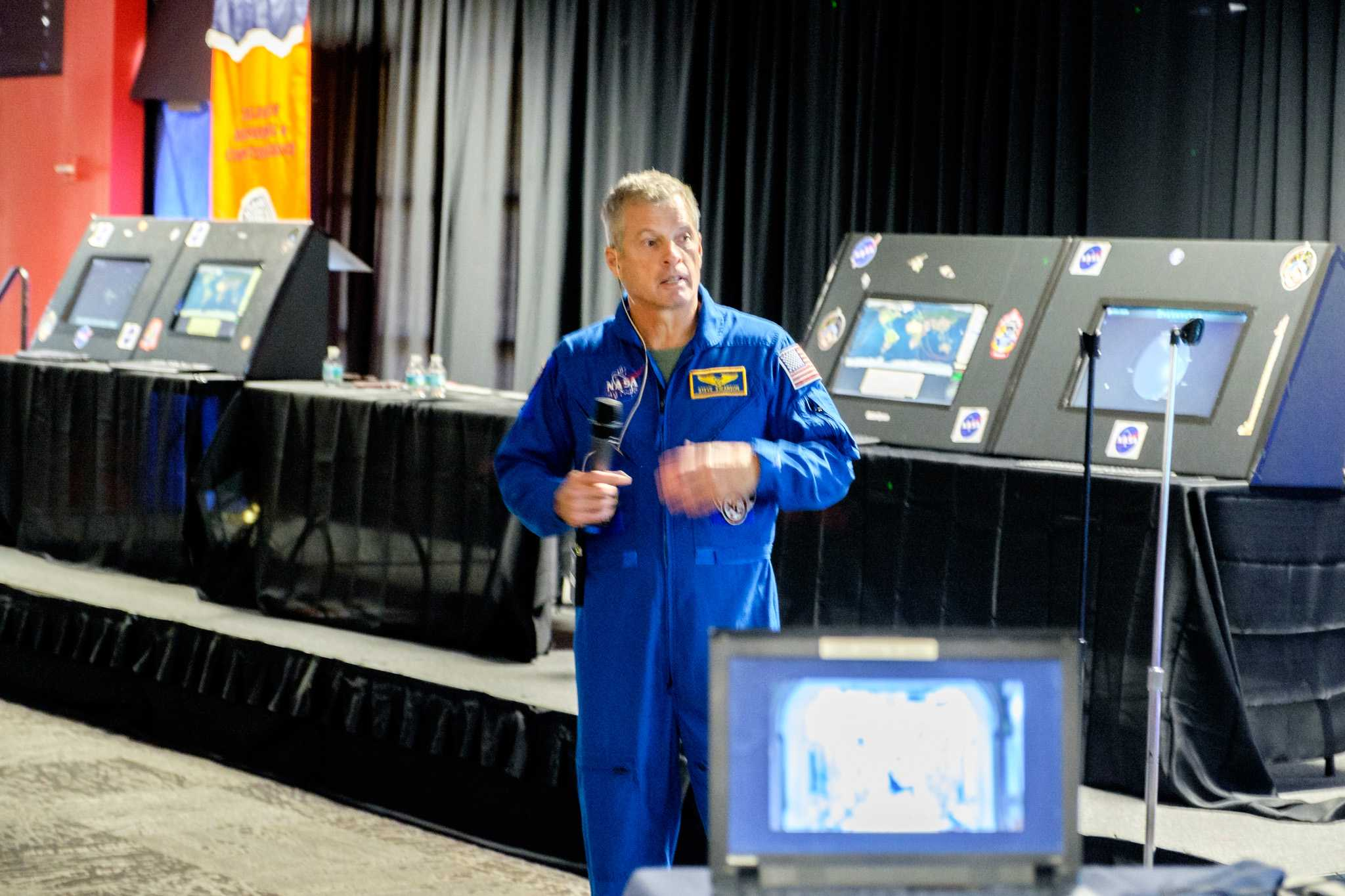 Astronaut Steven R. Swanson talks about what he did on the International Space Station. He is the first person to take a selfie on the ISS. Mohammed F Emran | Asst. Creative Director