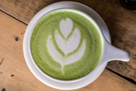 The Green Matcha Latte is the perfect alternative to a cup of coffee or the usual green tea. Photo by Emily Creighton | Features Editor