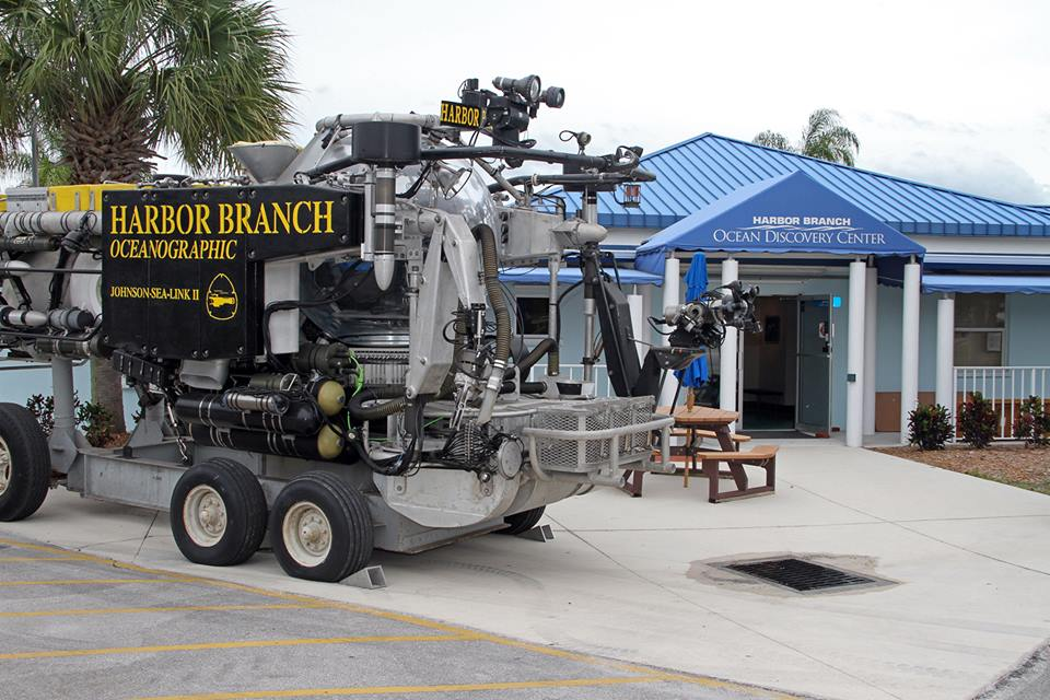 Photo of Harbor Branch Oceanic Discovery Center courtesy of Harbor Branch's Facebook page.