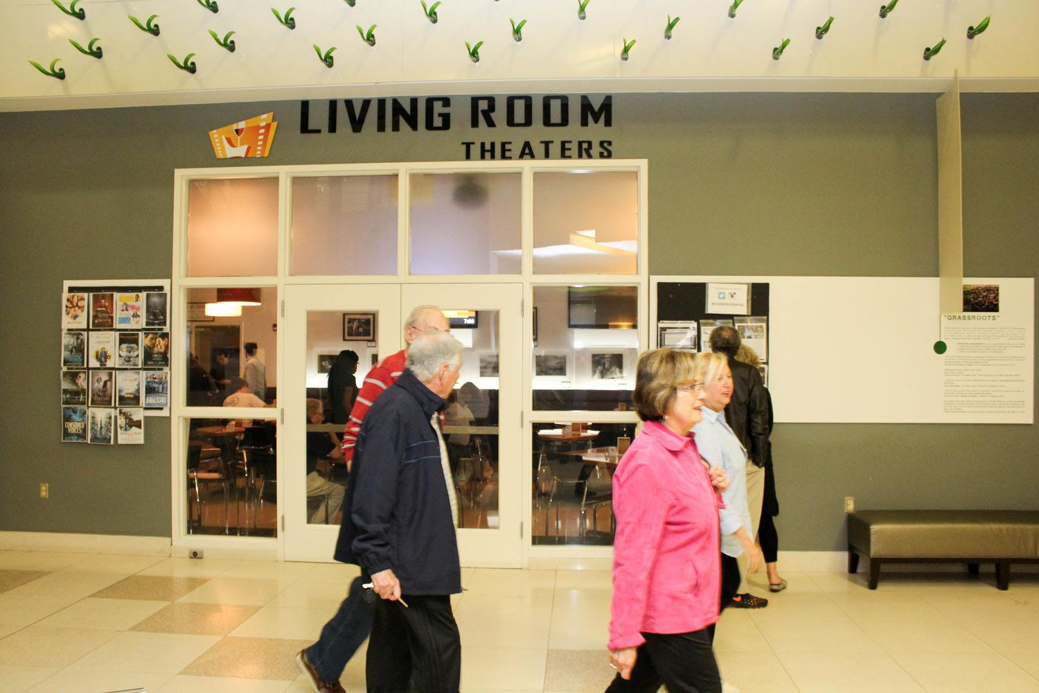 Older Theatergoers Arriving To Watch A Film At FAU Living Room Theaters Photo By Patrick