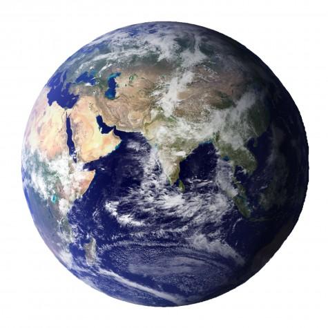 Earth. Photo courtesy of NASA.