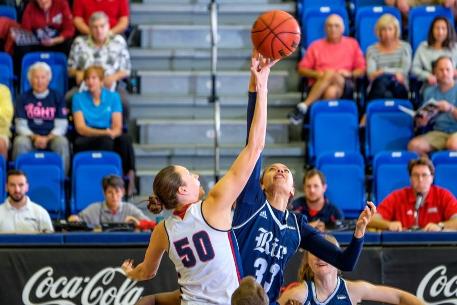 Junior Melinda Myers (50) scored eight points in the Owls loss at Grand Canyon. Mohammed F Emran | Staff Photographer.