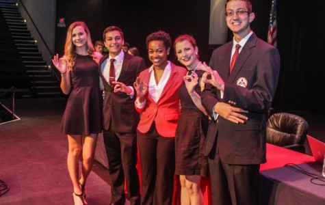 School spirit, school desirability recurring themes at Student Government presidential debate