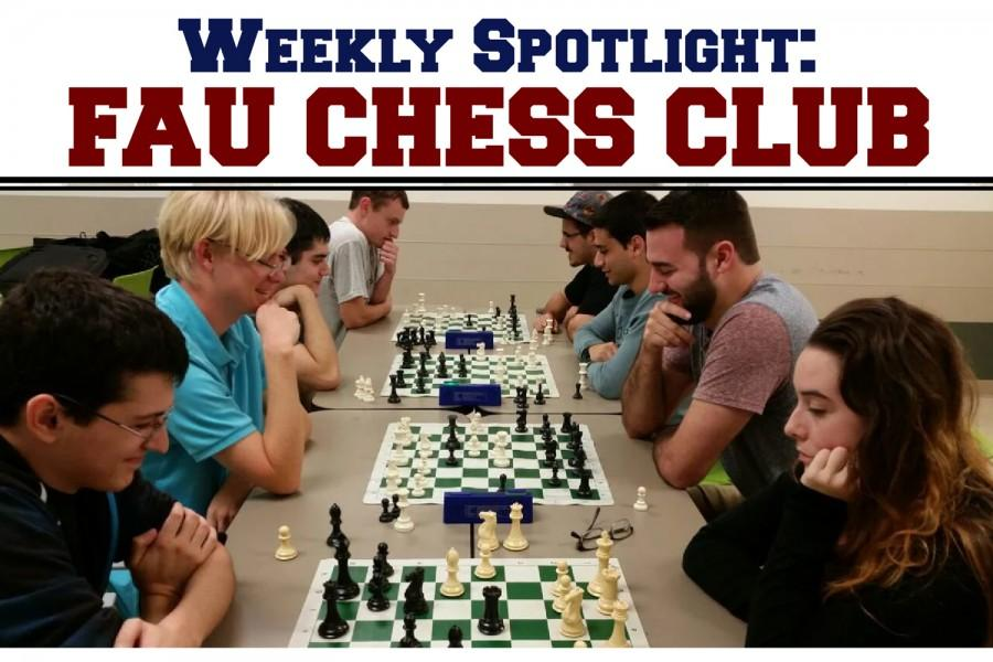 FAU Chess Club competes in tournaments from Boca Raton Chess Club and the South Florida Inter-Collegiate Chess Tournament. Photo courtesy of Corey Zapin, club president.
