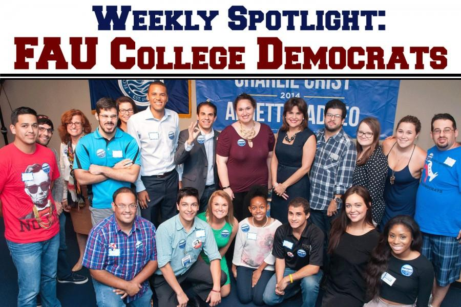 FAU+College+Democrats+have+32+due-paying+members+and+a+larger+network+of+students+involved+in+politics+both+in+and+out+of+campus+life.+Photo+courtesy+of+FAU+College+Democrats%E2%80%99+Owl+Central+page.