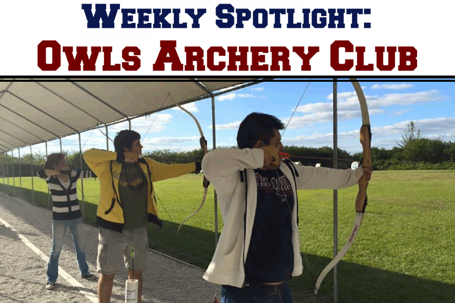The+Owls+Archery+Club+meets+Fridays+and+Sundays+from+4+p.m.+to+6+p.m.+Photo+courtesy+of+the+OAC%E2%80%99s+Facebook+group.%0A