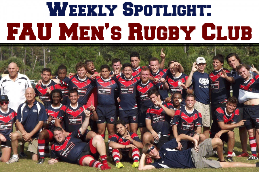 The FAU Men's Rugby Club meets for practice every Tuesday and Thursday from 7:30 p.m. to 9:30 p.m. Photo courtesy of FAU Men's Rugby Club.