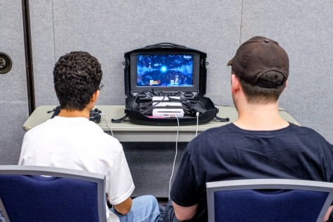 Kevin Carignan and Keith Nochimson participates in a Super Smash Brothers tournament held in Live Oak, 13 total players participated. Keith won 1st place. Mohammed F. Emran | Staff Photographer