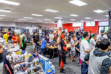 2016 Geek Fest had around 131 booths of vendors and over 1,000 attendees. Mohammed F. Emran | Staff Photographer