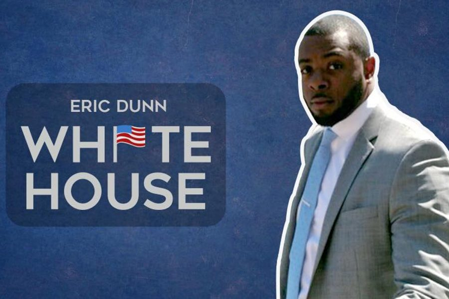 Eric Dunn was invited to the White House by current Vice President Joe Biden. Photo courtesy of Eric Dunn.