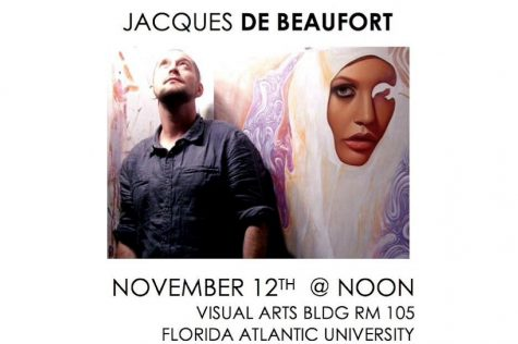 Jacques De Beaufort was one of the guest speakers for the artist talks. Photo courtesy of Painter's Forum Owl Central page.