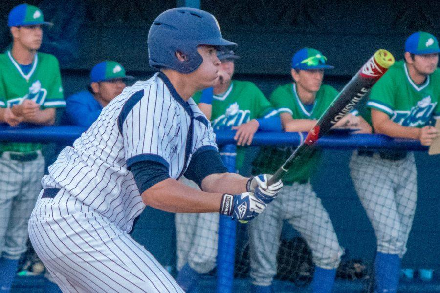 Junior Sean Labsan has found success both at the plate and on the mound this season. Ryan Lynch | Multimedia Editor