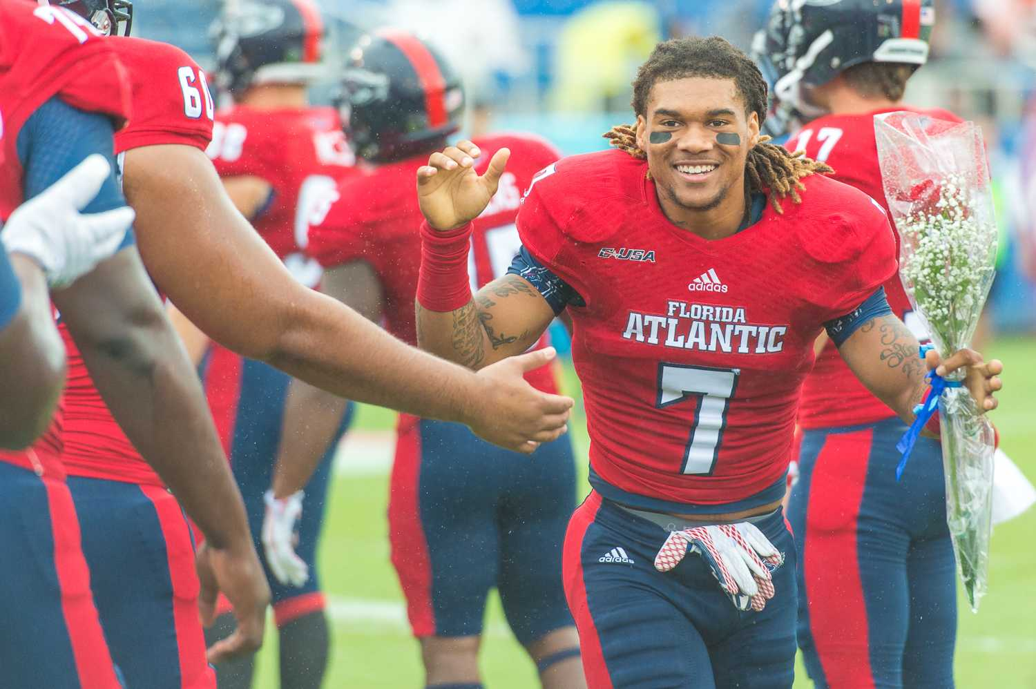 Defensive back Cre'von LeBlanc was one of five FAU players signed to an NFL contract over the weekend. Max Jackson | Staff Photographer