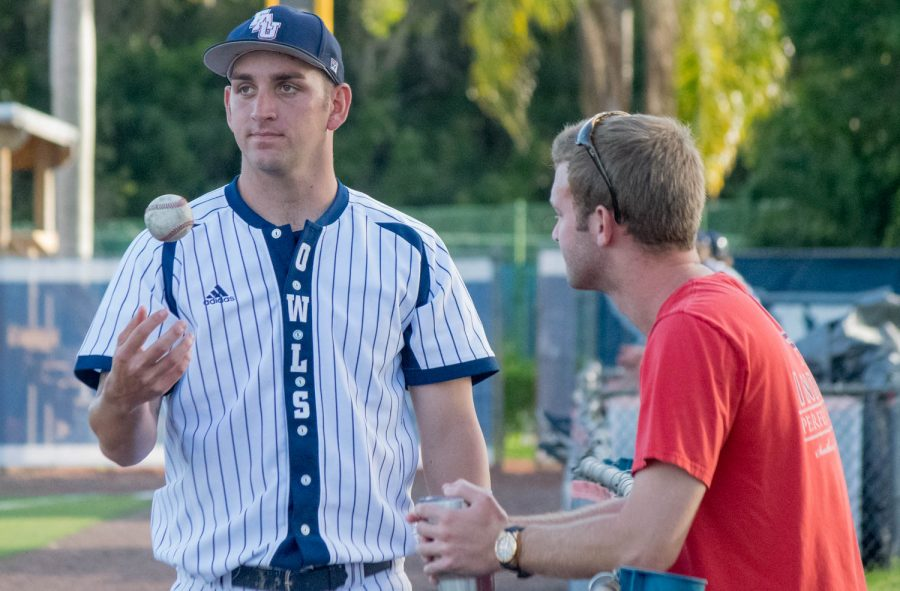 Junior Colyn O'Connell was one of five FAU players selected during the 2016 MLB Draft. Ryan Lynch | Multimedia Editor.