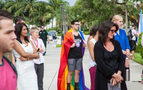 University organizations host WeAreOnePulse vigil on Boca campus