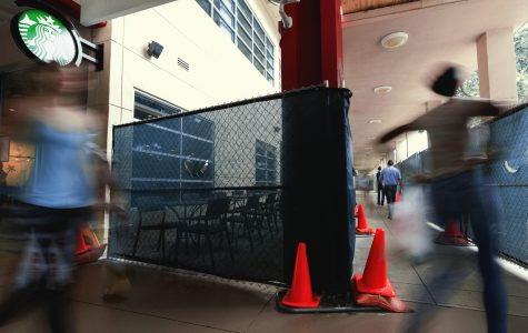 """Wrap around into Tradition Square, the most common area to say """" excuse me """" at FAU. Patrick Delaney 