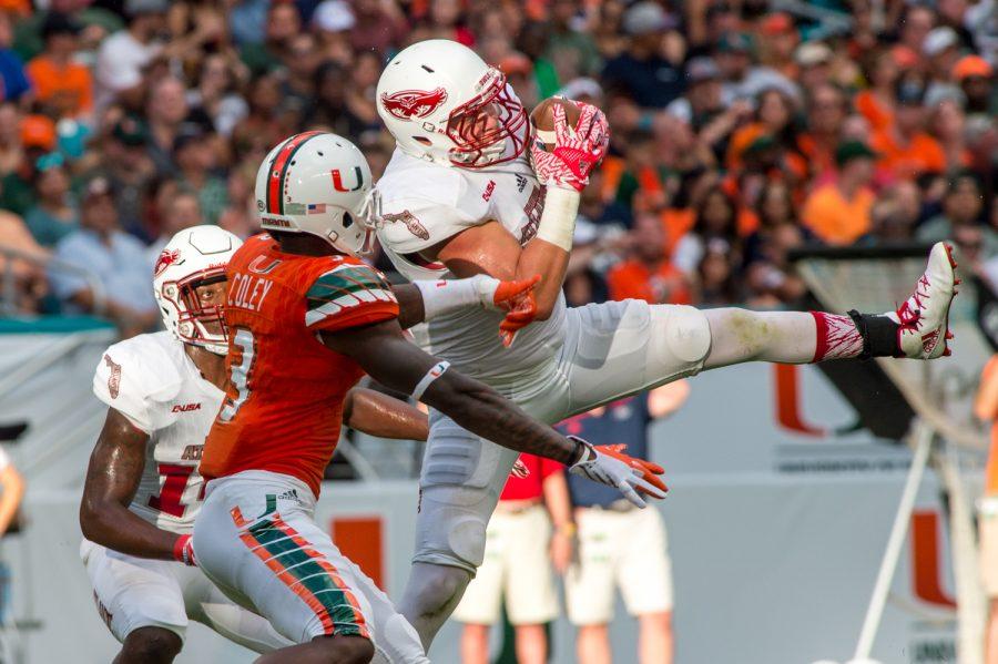 Gallery: Football versus the University of Miami Hurricanes