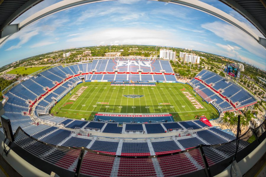 FAU Stadium has several new food and drink options to choose from this season. Brandon Harrington | Staff Photographer