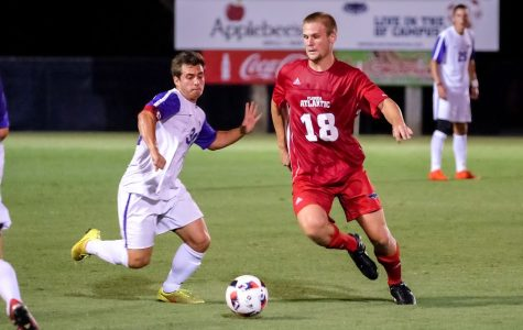 Men's Soccer: FAU defeats New Mexico with controversial overtime goal