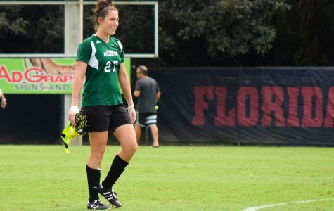Women's Soccer: Sydney Drinkwater has become a fixture in between the goalposts