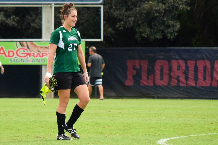 With one more season left with the Owls and two shutouts on the season, Drinkwater needs five more clean sheets to tie the all-time program record of 25. Ryan Lynch | Editor in Chief