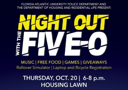 Photo courtesy of FAU Department of Housing and Residential Life.
