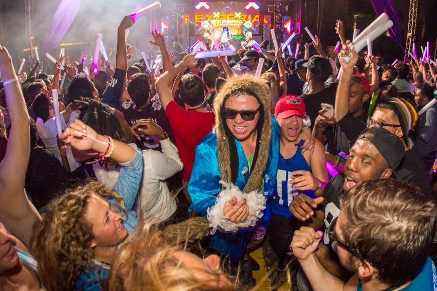 Students celebrate at Owl Fest last year. Max Jackson   Staff Photographer
