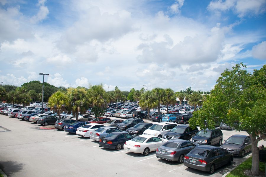 There are 38,172 parking passes that have been issued so far this fall according to FAU's Parking and Transportation Office. Craig Ries | Contributing Photographer