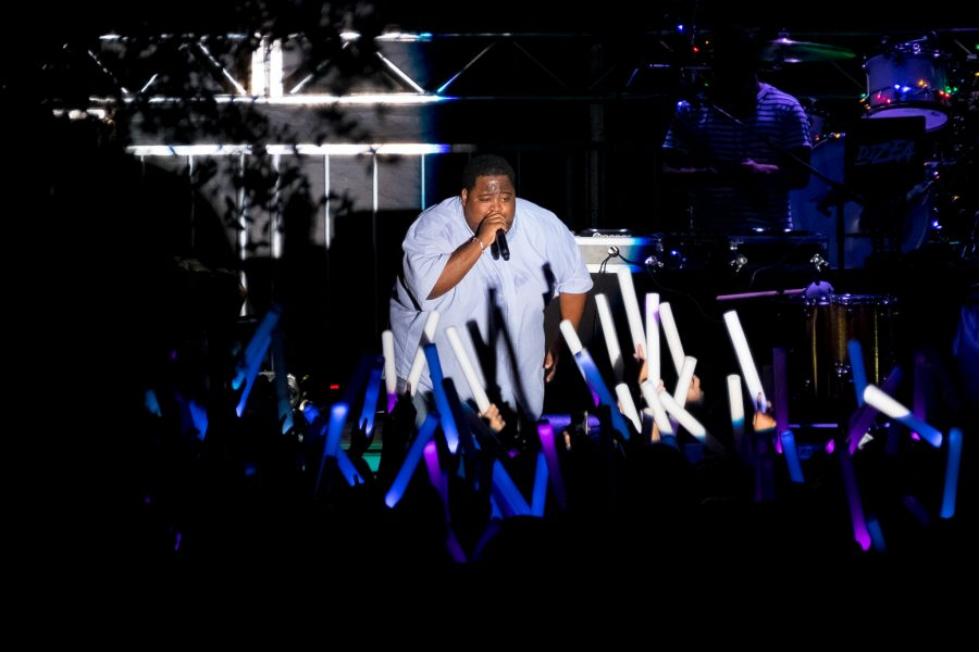 "LunchMoney Lewis, who was the opening act for Kesha, performs his 2015 single ""Bills"". The song topped the charts in Australia, New Zealand and the United Kingdom. Mohammed F Emran 